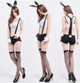 Lingerie Sexy bar KTV princesa uniforme vestido tentação terno do coelho serviço de fotografia