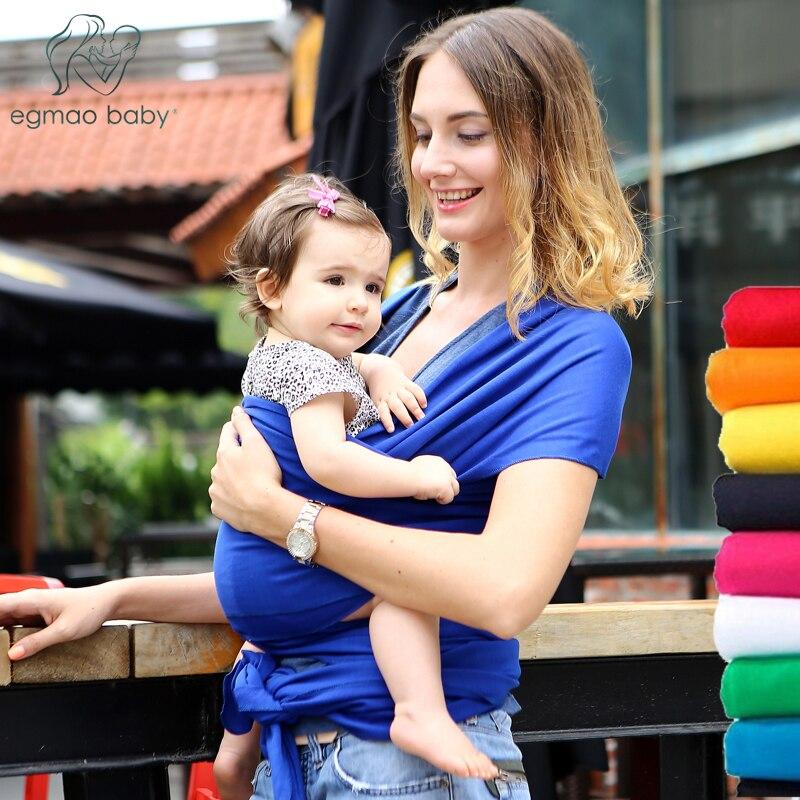 2017 Hot Sale Adjustable Infant Baby Sling Blanket Stretchy Wrap Carrier Baby swaddle Backpack Infant Hipseat
