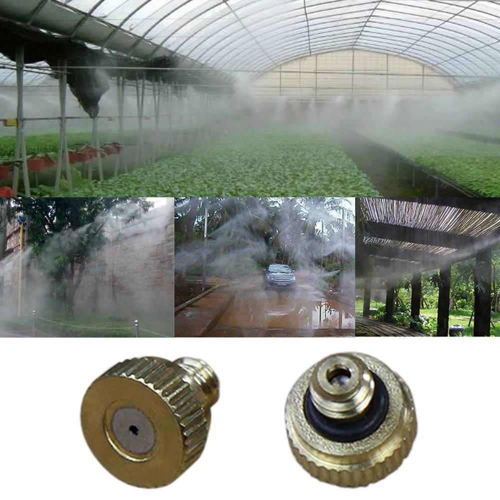 10 db sárgaréz víz ködfúvóka sprinkler fej alacsony nyomású - Elektromos szerszám kiegészítők - Fénykép 3