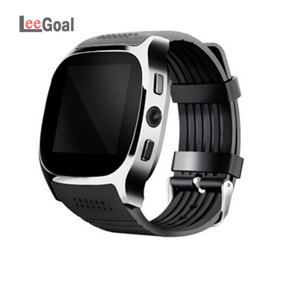 T8 Bluetooth Smart Watch Download Sim TF SD Card Phone Call Push Message Camera Bluetooth Dial /Call For IOS Android Phone armband for iphone 6