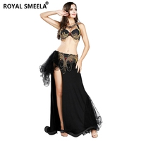 2019 New Belly Dance Stage Wear Cheap for Women&Girls Spandex Set Sequins Bellydance Costumes 7807