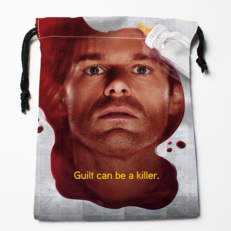 New Custom Dexter Drawstring Bags Custom Storage Bags Storage Printed Gift Bags Compression Type Bags
