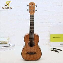 23 Pouce 4 Cordes Ukulele Acajou Touche Palissandre & Pont Guitare Instrument de Musique Pour Guitare Musique Amateurs