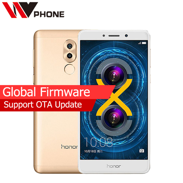 Original Huawei Honor 6X 4G LTE Mobile Phone Hisilicon Kirin 655 Octa Core Dual Rear Camera 5.5'' 4GB RAM 64GB ROM