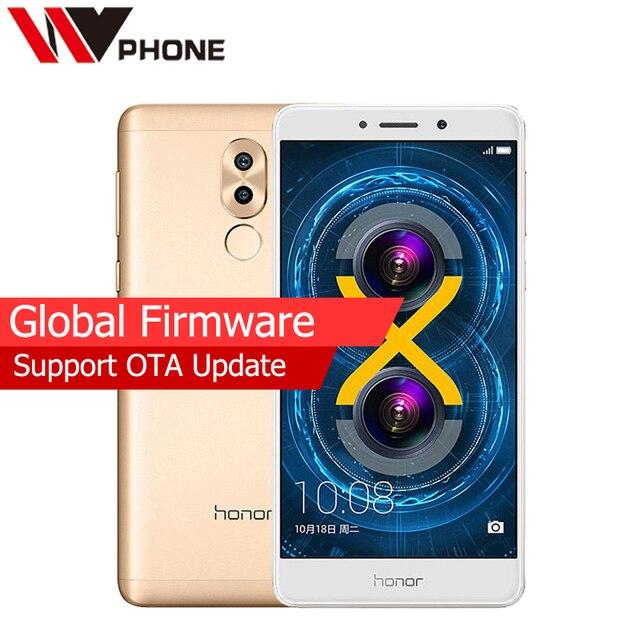 Original Huawei Honor 6X 4G LTE Mobile Phone Hisilicon Kirin 655 Octa Core Dual Rear Camera 5.5'' 4GB RAM 64GB ROM