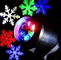 Laser Outdoor Lawn Light Snowflake Laser Spotlight Light Landscape Park Garden Lamp Decorations Christmas Laser Projector