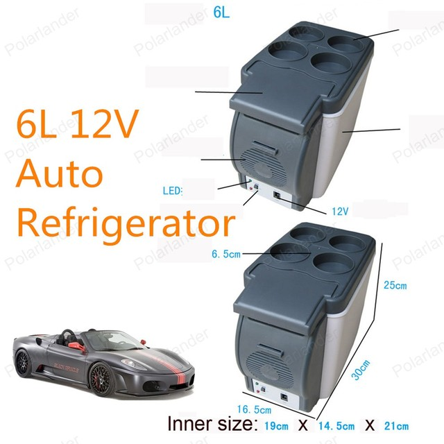 Hot Sale 6L Mini Car Refrigerator Car Freezer Refrigerator Free Shipping Car Refrigerator