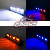 GWOLVES 5mode Aluminum Strobe brightness flash LED Light 1/10 1/8 1/5 Traxxas HSP HPI Monster Short Truck Rally Crawler rc parts