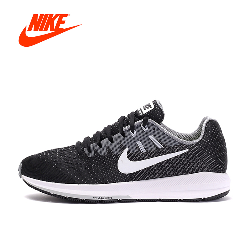 Authentic NIKE 2017 New Arrival AIR ZOOM STRUCTURE Men's Running Shoes Sneakers nike air zoom structure 19 flash