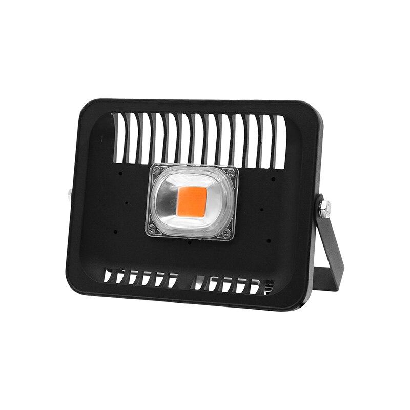 Led Élèvent la lumière D'inondation 30 W 50 W 100 W AC110V 220 V IP65 Étanche spectre complet Pour Fleur Plantes de Semis Avec L'UE Plug Croissance Lampe
