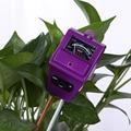 PH Meter Tester 3 in 1 Soil Moisture Water Sunlight Monitor PH Meter Analyzer Light Analized for Flowers Temperature Tester Tool