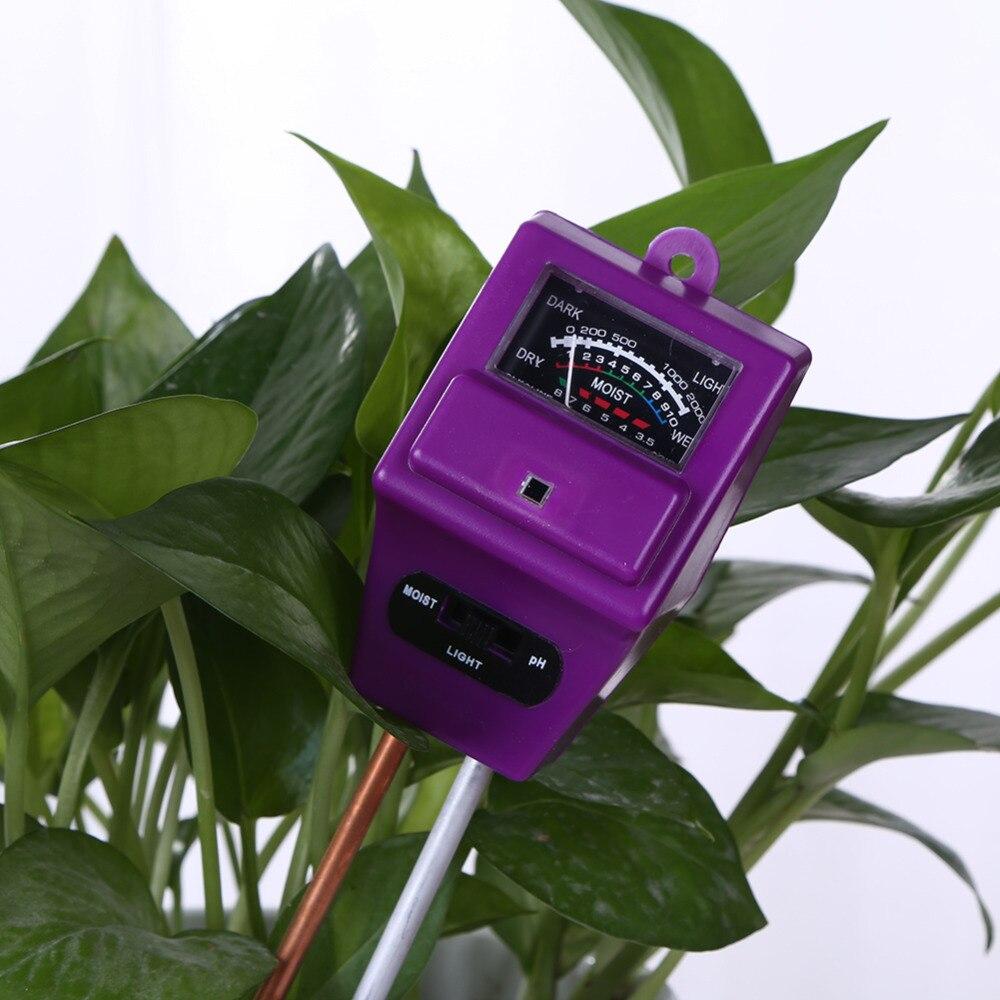 3 ühes mullas niiskusesisene päikesevalguse monitor PH-meetri - Mõõtevahendid - Foto 2