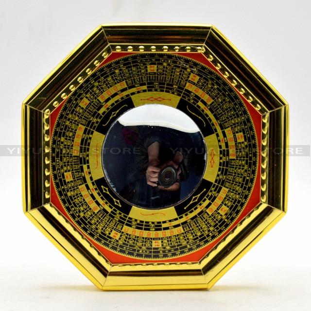 Feng Shui Spiegel 4 zoll chinesische feng shui konkaven legierung bagua spiegel wand