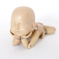 Новорожденных подставки для фотографий младенцев фото интимные аксессуары ребенок позирует кукла сочлененный кукла на шарнирах моделиров