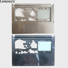 NEW cover case FOR Lenovo Ideapad S400 S400T S405 S410 S415 C Shell Palmrest Cover silver/black(China)