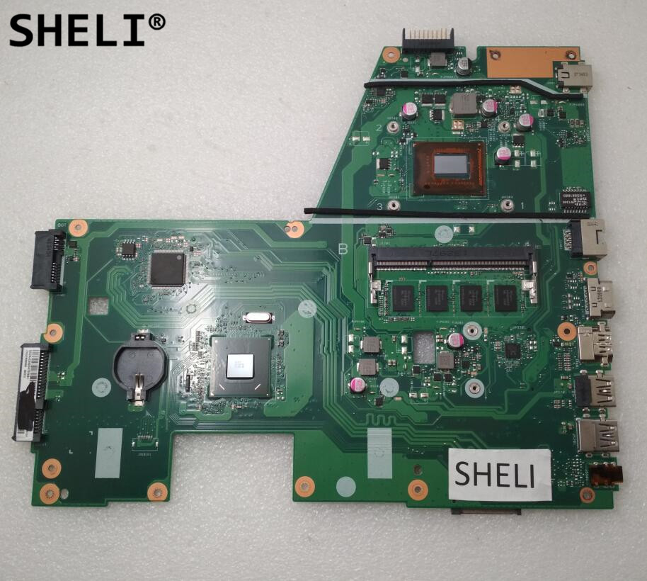 SHELI For ASUS X551CA Motherboard With I3-3217U CPU 4GB Memory