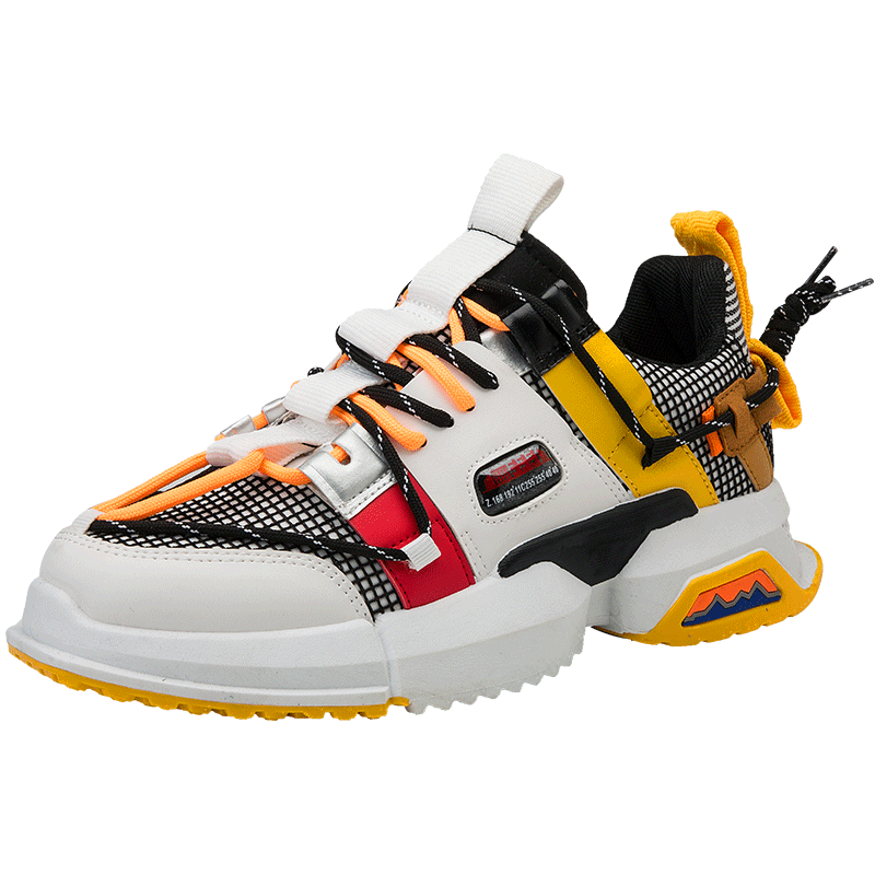 Men's Outdoor Casual Boots Trend High-tops Sneakers Fashion Sports Shoes Popular Basketball Shoes Fashion Shoes 2019 Men
