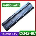 4400 mah bateria para hp 430 431 435 630 631 635 636 650 655 G62m-300 CTO Notebook PC PARA Envy 15-1100 630 G32 G42 G56 G62 G72t