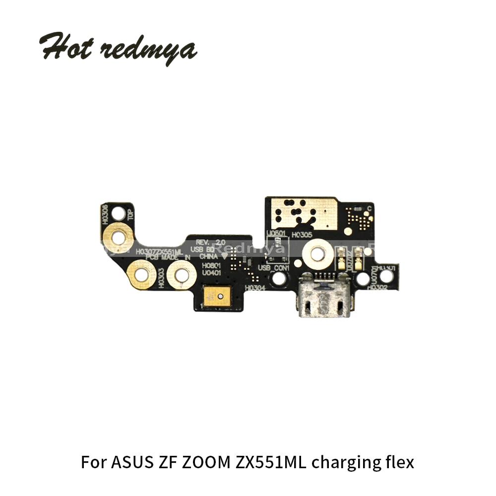 For ASUS Zenfone ZOOM ZX551ML ZB501KL Usb Charging Flex