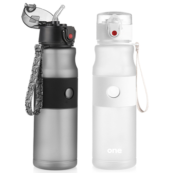 750ml Sport Water Bottles Portable Straw And Direct Drinking Lids My Bottle For Water Leakproof Climbing Hiking Tea Tumbler Good