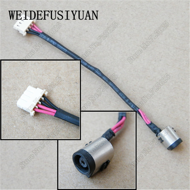 ac dc power jack wire connector charge port for sony vaio flip 14 15 rh aliexpress com dc power jack soldering dc barrel jack connector