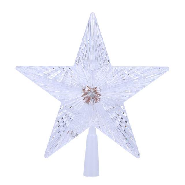 christmas tree party decorations led luminous tree top star ornaments company luminaria nightlight baby gift toy