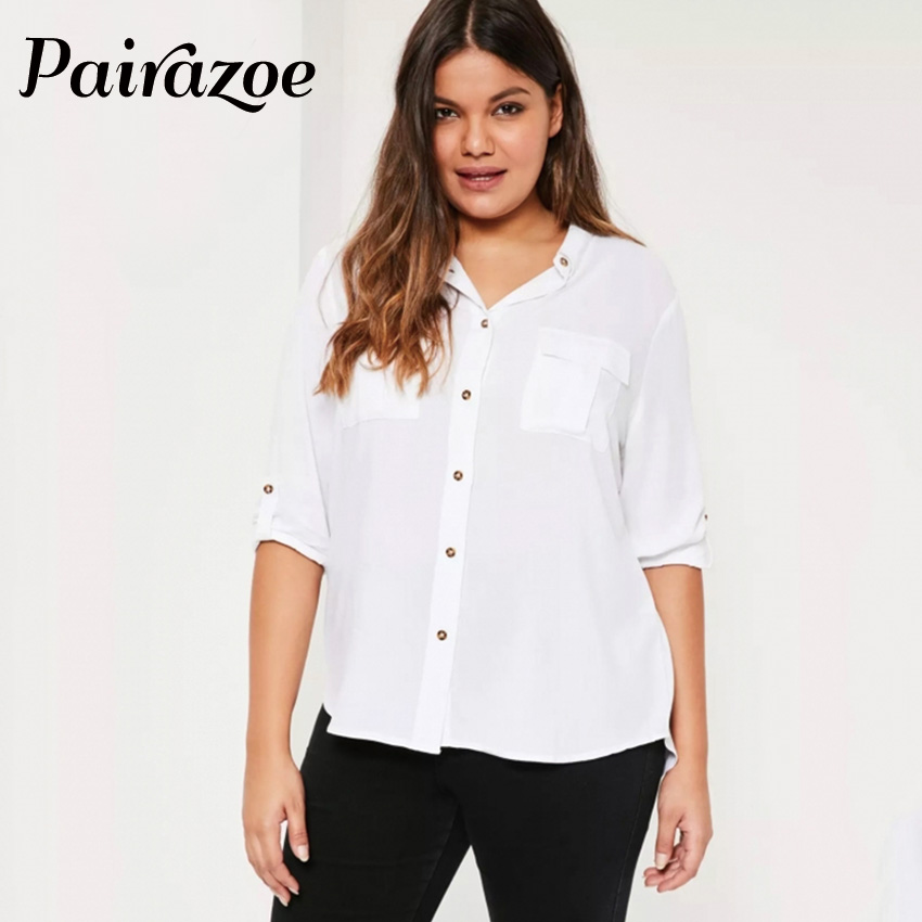 Popular Soft White Shirt Women Long Sleeve-Buy Cheap Soft White ...