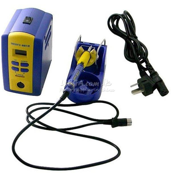 HAKKO FX-951 Solder Station Welding machine with Electric Soldering Iron & hot air gun & solder tips button switch ub226skg036cf original