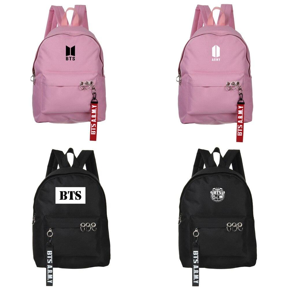 Neue Kpop BTS BT21 Bangtan Boys Flügel Gruppe Die Gleiche Oxford Stoff Tuch Studenten Tasche Mode Teenager Rucksack Reise Laptop tasche