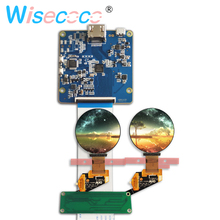 цена на 1.39 inch micro OLED screen MIPI display 400*400 round AMOLED with controller board for smart watch wearable devices