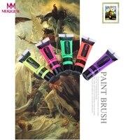 Novità e Bavaglio Giocattoli 6 colori 24 corpo umano a base di acqua vernice fluorescente vernice dipinti a mano di vernice luminosa vernice luminosa giocattolo