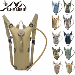 SJ-Maurie 3L Military Tactical Hunting Hiking Hydration Backpack Outdoor Camping 600D Polyester Water Bag for Cycling Hiking