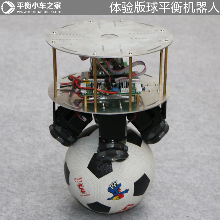 Ball Balancing Robot Ballbot self balancing two wheeled robot