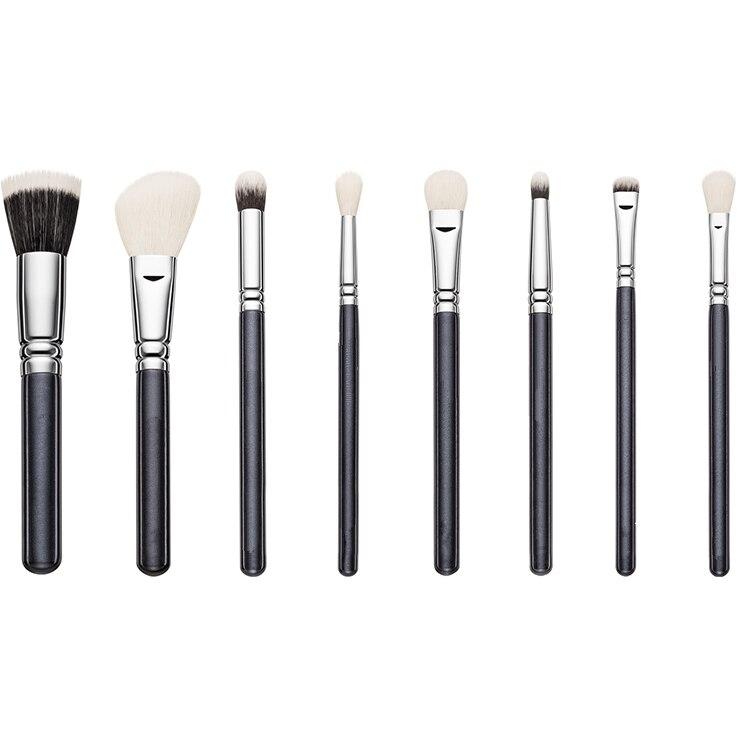 29 шт фирменные Кисточки для макияжа Профессиональные кисти для макияжа Набор высокого качества макияж набор с чехлом натуральная щетина ма... - 3
