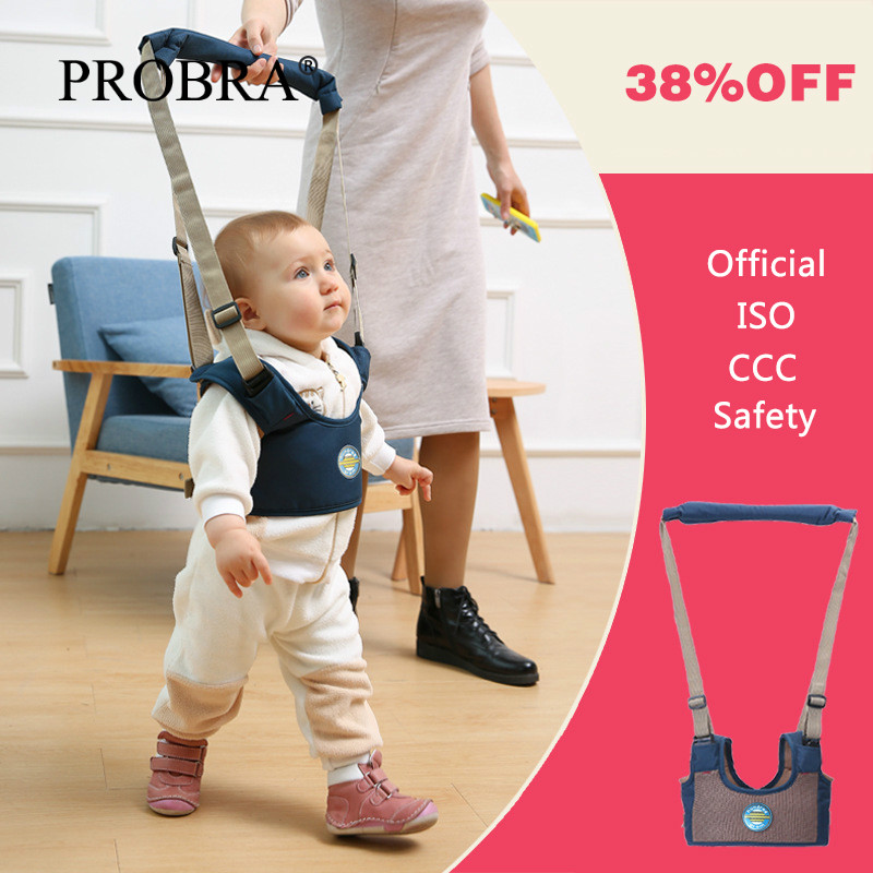 Baby Walker Load 25KG Toddler Safety Traction Anti-fall Leash Strength Nylon Protable Baby Harness Assistant Training Walking Ne