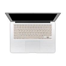 """NOUS Version Russe Langue Alphabet Lettre Clavier de Silicone Film Protecteur de Peau de Couverture pour MacBook Air 13 Pro 13 """"15"""" 17"""""""