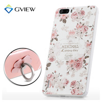High Quality 3D Relief Print Soft TPU Back Cover Case For Huawei Honor 6 Plus 5
