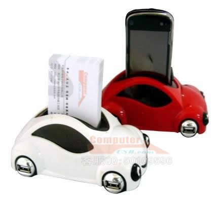 Car shaped usb hub with mobile phone business card holder in usb car shaped usb hub with mobile phone business card holder colourmoves
