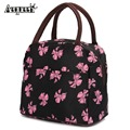 New Style Hot Variety Pattern Lunch Bag Lunchbox Women Handbag Portable Bag Kids Adult Picnic Tote Pouch Box Handbags