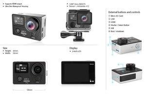 Image 5 - EKEN H5S בתוספת פעולה מצלמה HD 4K 30FPS עם Ambarella A12 שבב בתוך 30m עמיד למים 2.0 מגע מסך EIS ללכת ספורט מצלמה פרו