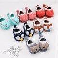 2 Pares/lote Meninas Do Bebê Recém-nascido menino Da Criança Infantil Berço Macio Sapatos Piso crianças Meias crianças Antiderrapante meias de Algodão 0-5 anos