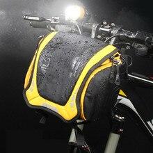 WILD MAN велосипедная передняя Труба Рама сумка Руль Камера сумка MTB баскетбольная корзина велосипедная сумка через плечо с водонепроницаемый чехол от дождя