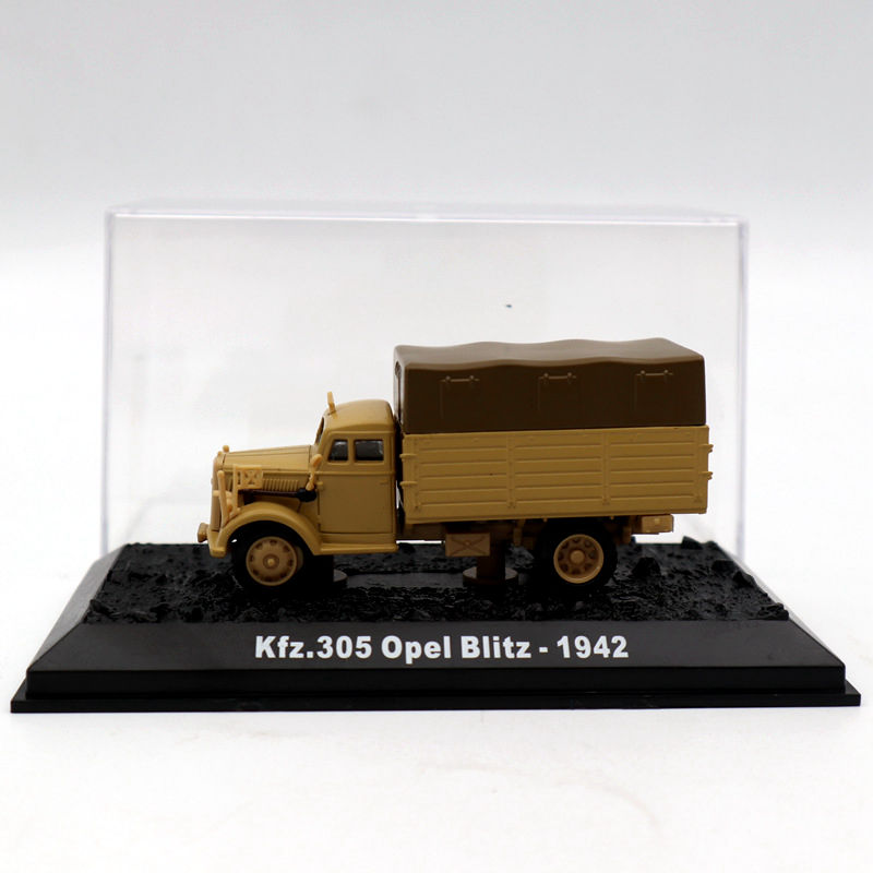 1:72 Kfz.305 Opel Blitz - 1942 Diecast German truck Model Military Vehicle WWII luvable friends комплект боди сафари 3 шт