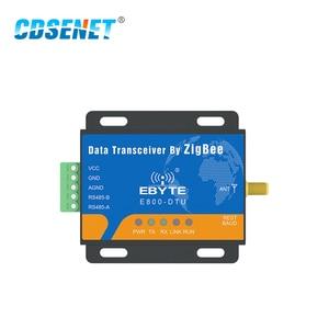 Image 2 - CC2530 Zigbee Module RS485 2.4GHz 500mW Mesh Network CDSENET E800 DTU(Z2530 485 27) Ad Hoc Network 2.4GHz Zigbee rf Transceiver