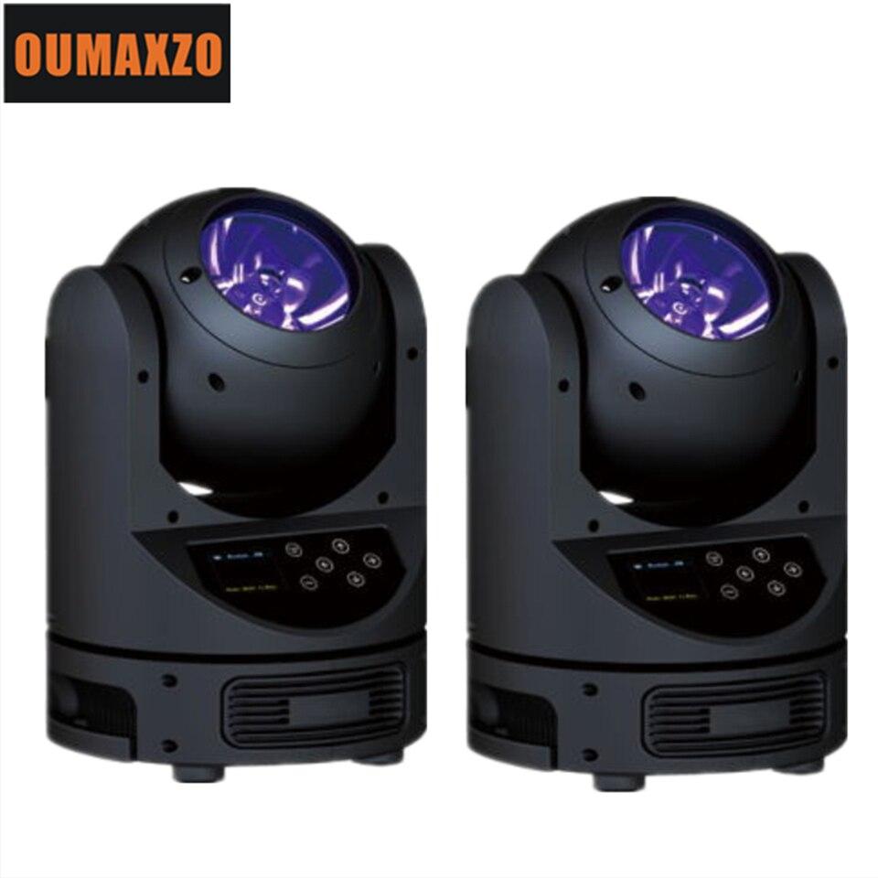 цена на LED Beam Moving Head Light 60W RGBW 4in1 Color 60W RGBW Mini LED Beam Moving Head Light led disco lights dmx rgbw 60w beam new