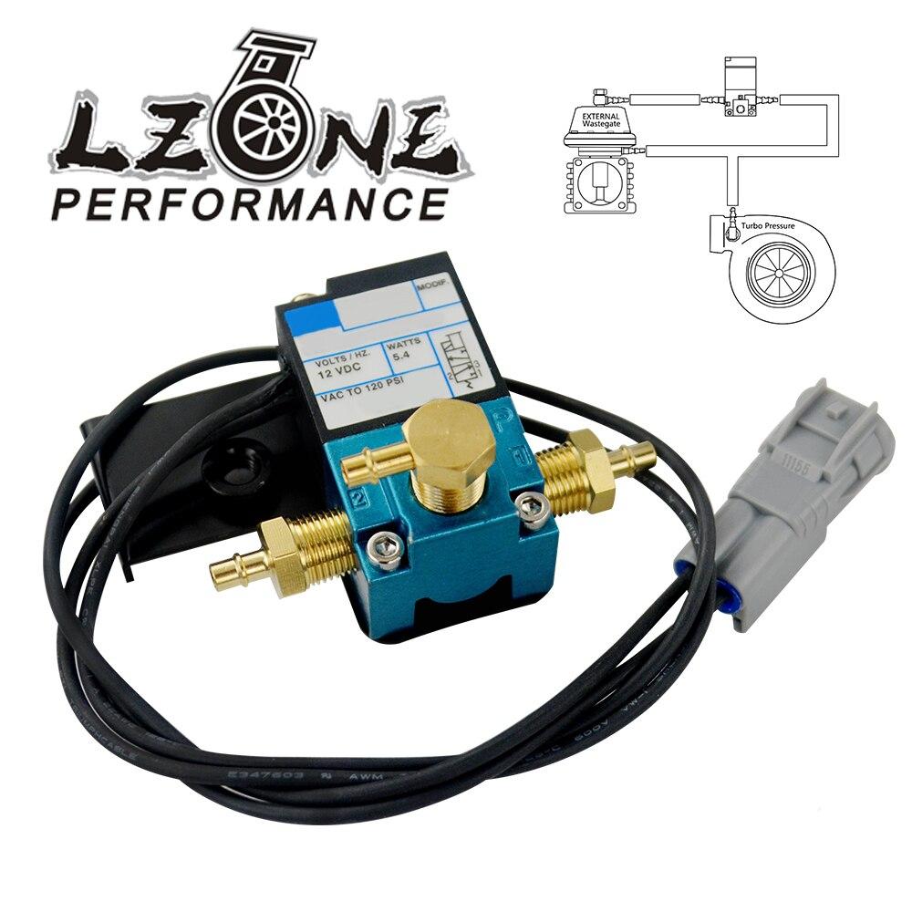 LZONE - EBC 3 Port Electronic Turbo Boost Control Solenoid Valve For 08-18 Subaru STI Nickel Plug HT-ECU01