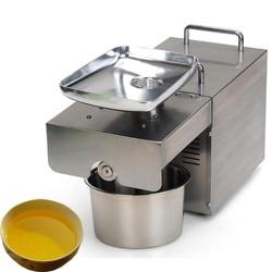 JamieLin Automatic Home Flaxseed oil extractor peanut oil Pressing Machine cold press oil making machine 220v/110v