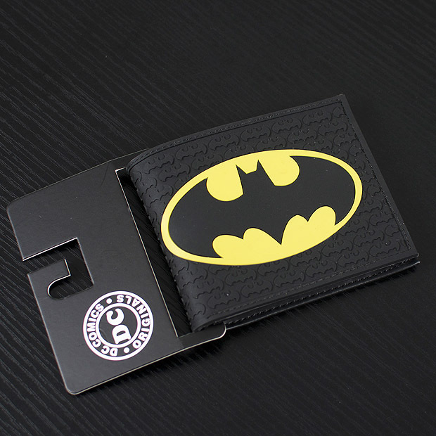 DC Marvel Comics Men PVC Wallet 3.45 inch Dollar Bags Batman Anime Prints Card Holder Purse Leather Black Wallets billeteras the lovely bow bear doll teddy bear hug bear plush toy doll birthday gift blue bear about 120cm
