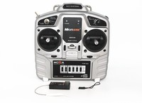 Microzone MC6A Model Aircraft Remote Control 2 4G Receiver With Fixed Wing Aircraft Through The 4