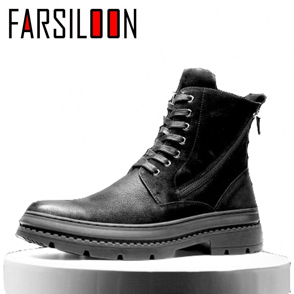 Мужские зимние ботинки martin из вельвета в английском стиле, повседневные удобные мягкие ботинки, мужские рабочие кроссовки, трендовая обувь ...